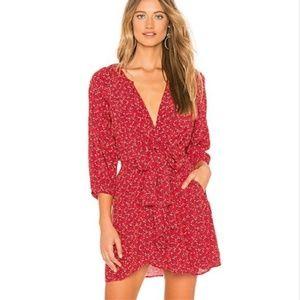 Free People NWT Clara Floral Print Tunic Dress